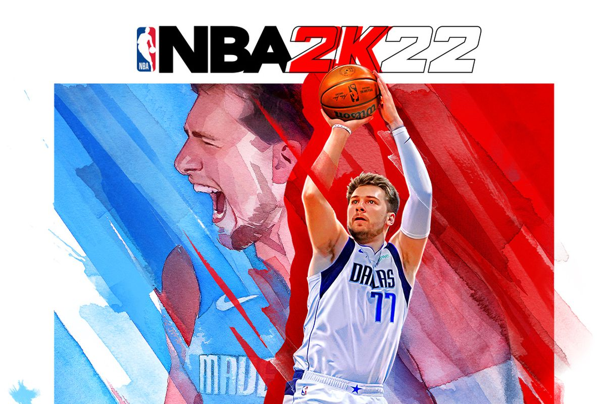 Cover Star Luka Doncic is a 94 overall in NBA 2K22 - Mavs Moneyball