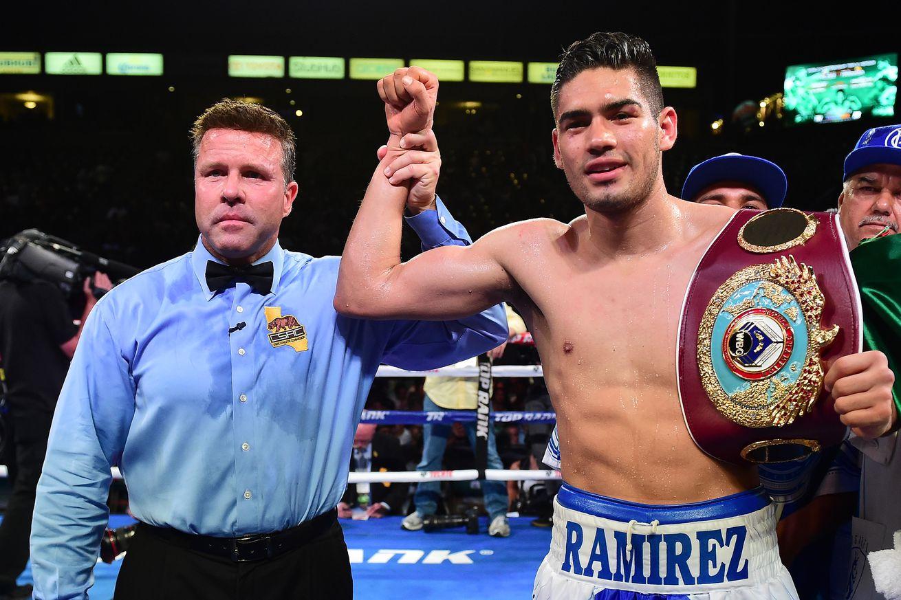 671680350.jpg.0 - Ramirez to face Karpency in 175-pound debut