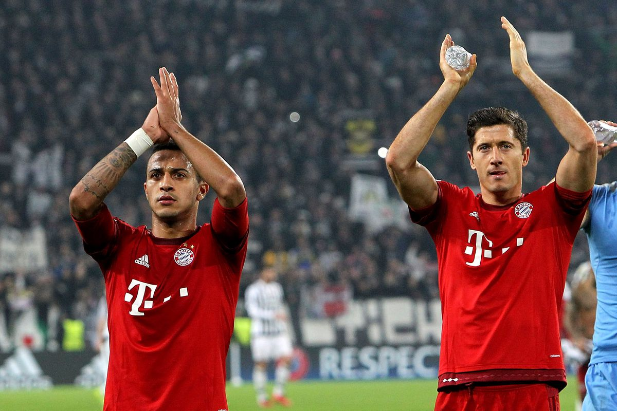 Celebrate the new Bayern babies with Lewandowski and Thiago ...