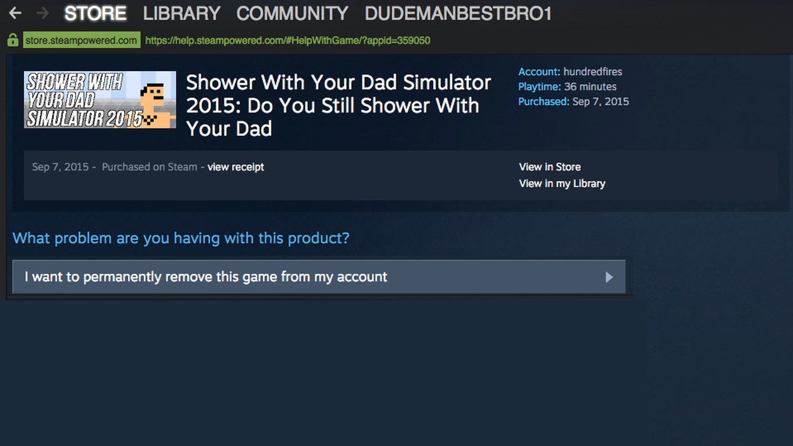 steam how to delete reviews
