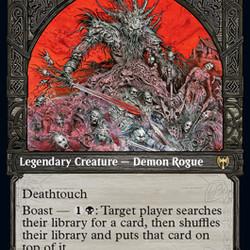 Yarragoth, Bloodsky Sire from <em>Kaldheim</em>.
