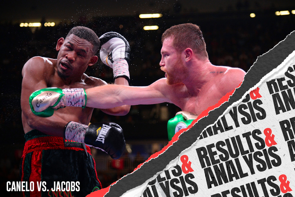 Canelo vs  Jacobs post-fight results and analysis - Bloody Elbow