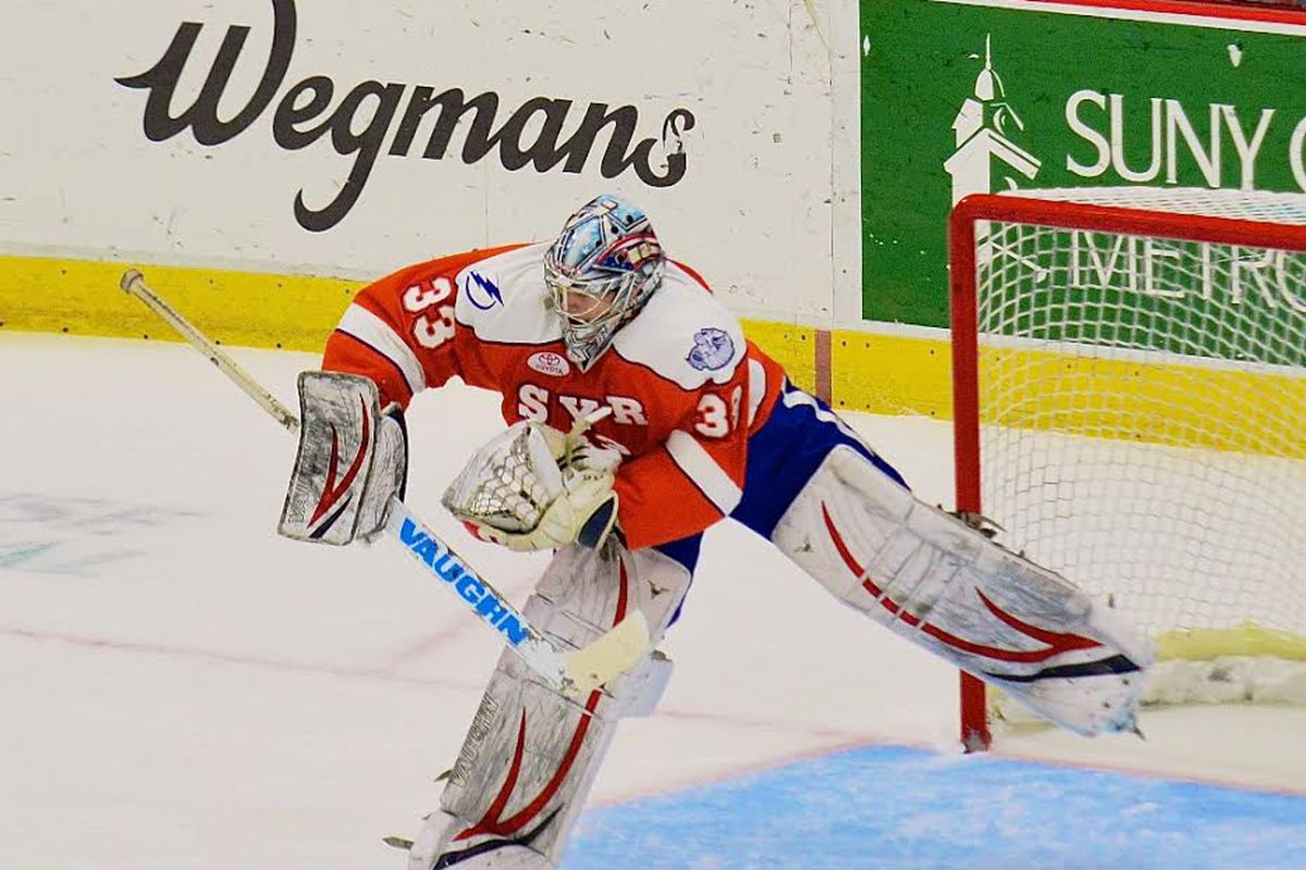 Allen York, who played for Syracuse during the 2013-2014 regular season, has been signed to a two-way AHL contract with the Crunch
