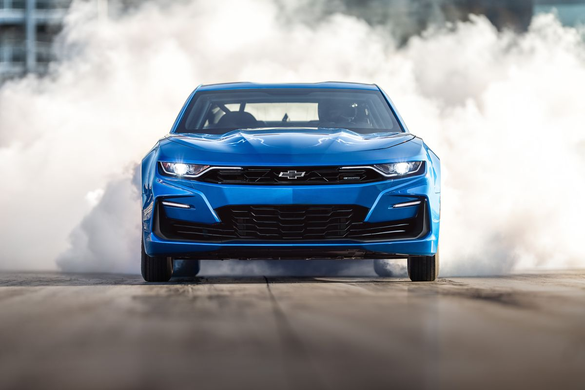 Chevy's new electric Camaro is the near future of EV drag ...