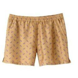 "<a href=""http://uscheckout.apc.fr/browse.cfm/4,2194.html?nav=women&subnav=shorts""> A.P.C. Shorts in paisley silk</a>, $235 apc.fr"