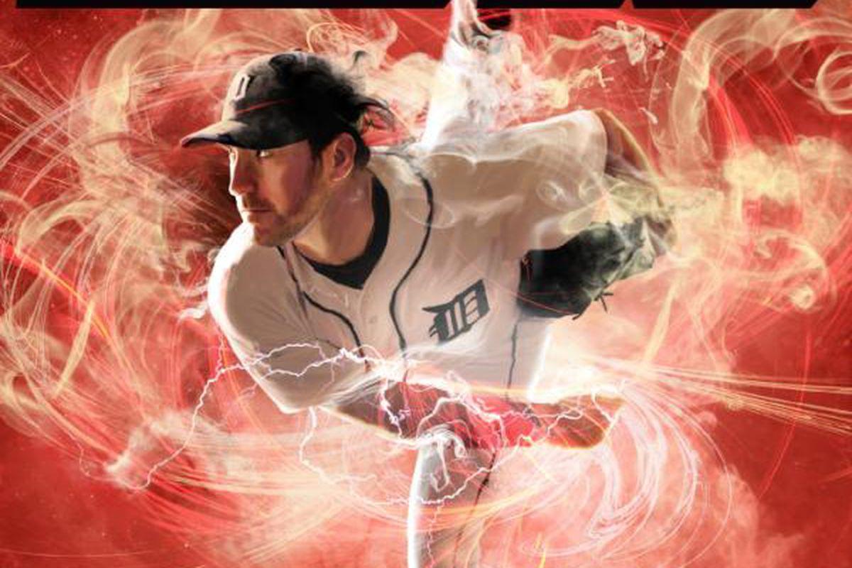 The cover art for 2K Sports' MLB 2K12 <em>(Justin Verlander, 2K Sports)</em>