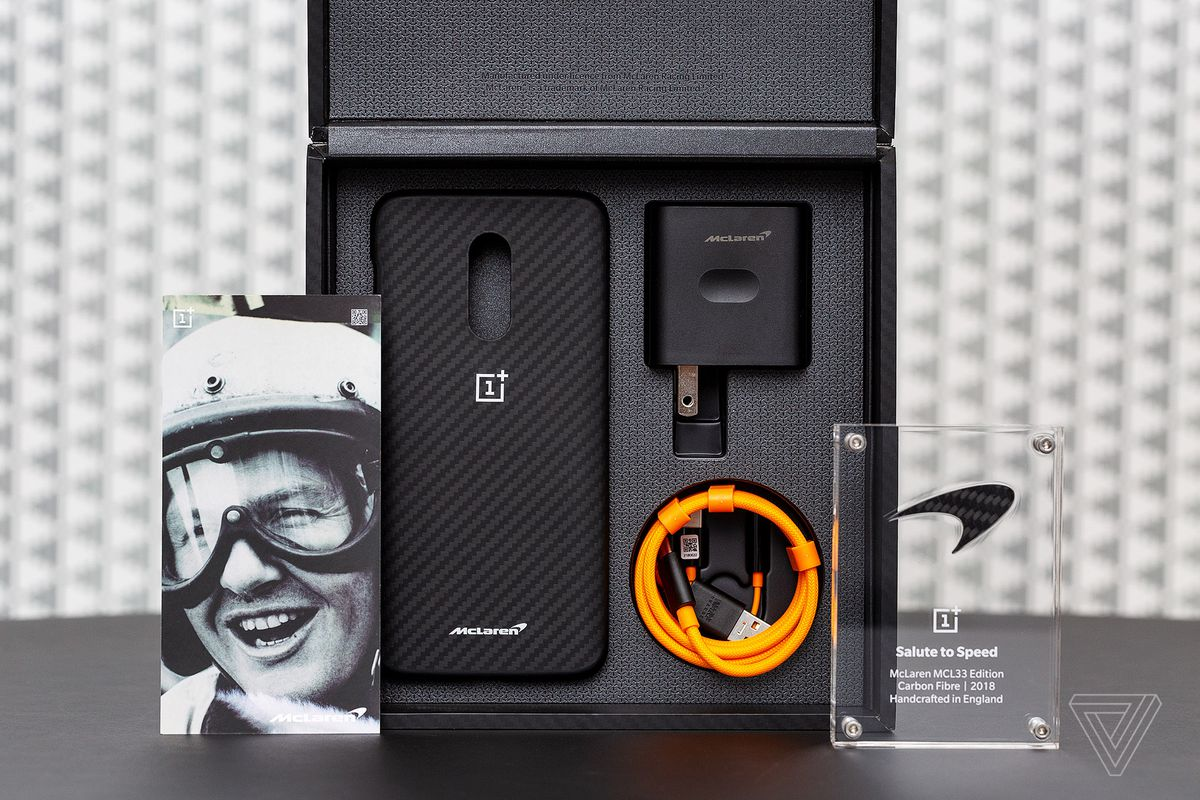 innovative design cd22c cdfd2 This is the OnePlus 6T McLaren edition - The Verge