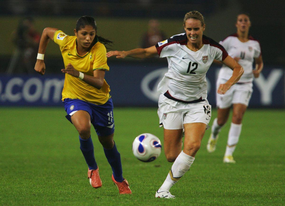Semi Final USA v Brazil - Women's World Cup 2007