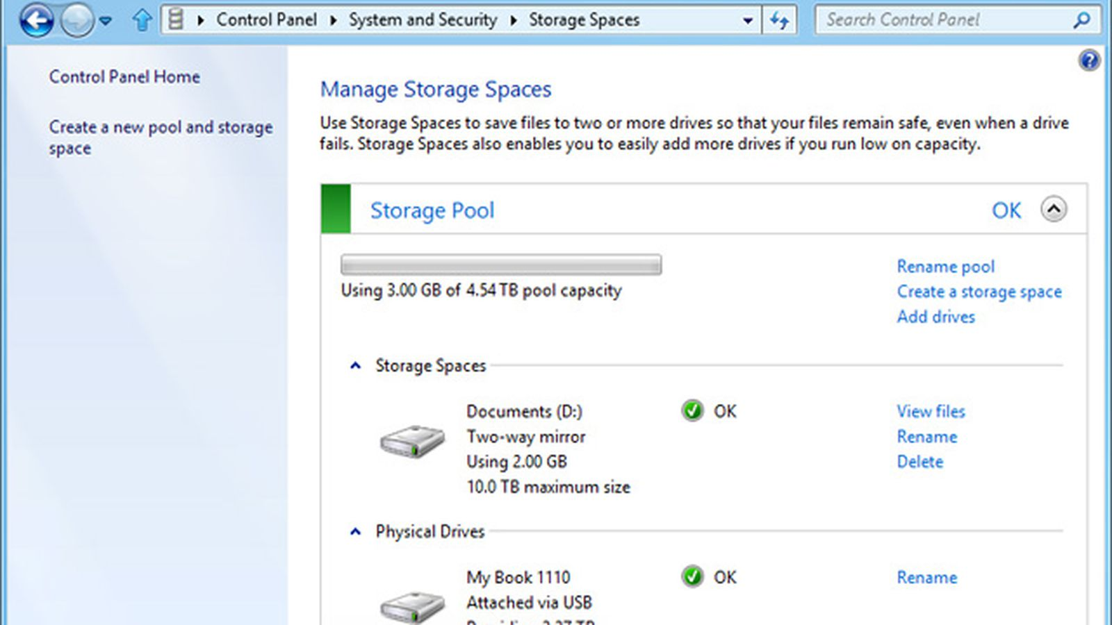 Storage Spaces introduces RAID-like disk pooling to Windows