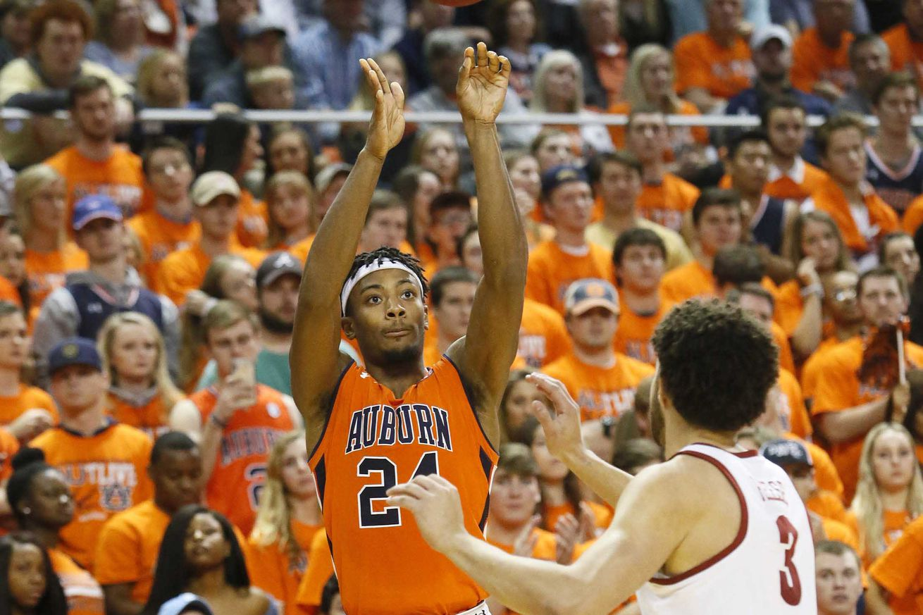 NCAA Basketball: Alabama at Auburn