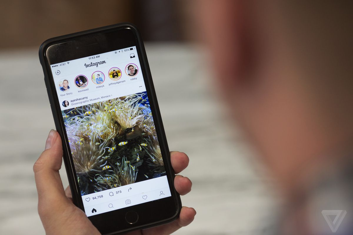Instagram's new stories are a near-perfect copy of Snapchat stories