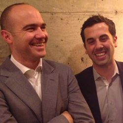 """<a href=""""http://ny.eater.com/archives/2013/04/robert_bohr_1.php"""">Eater Interviews: Robert Bohr and Grant Reynolds on Charlie Bird</a>"""