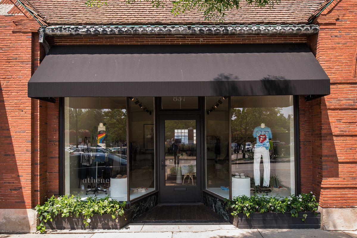 Athene's storefront