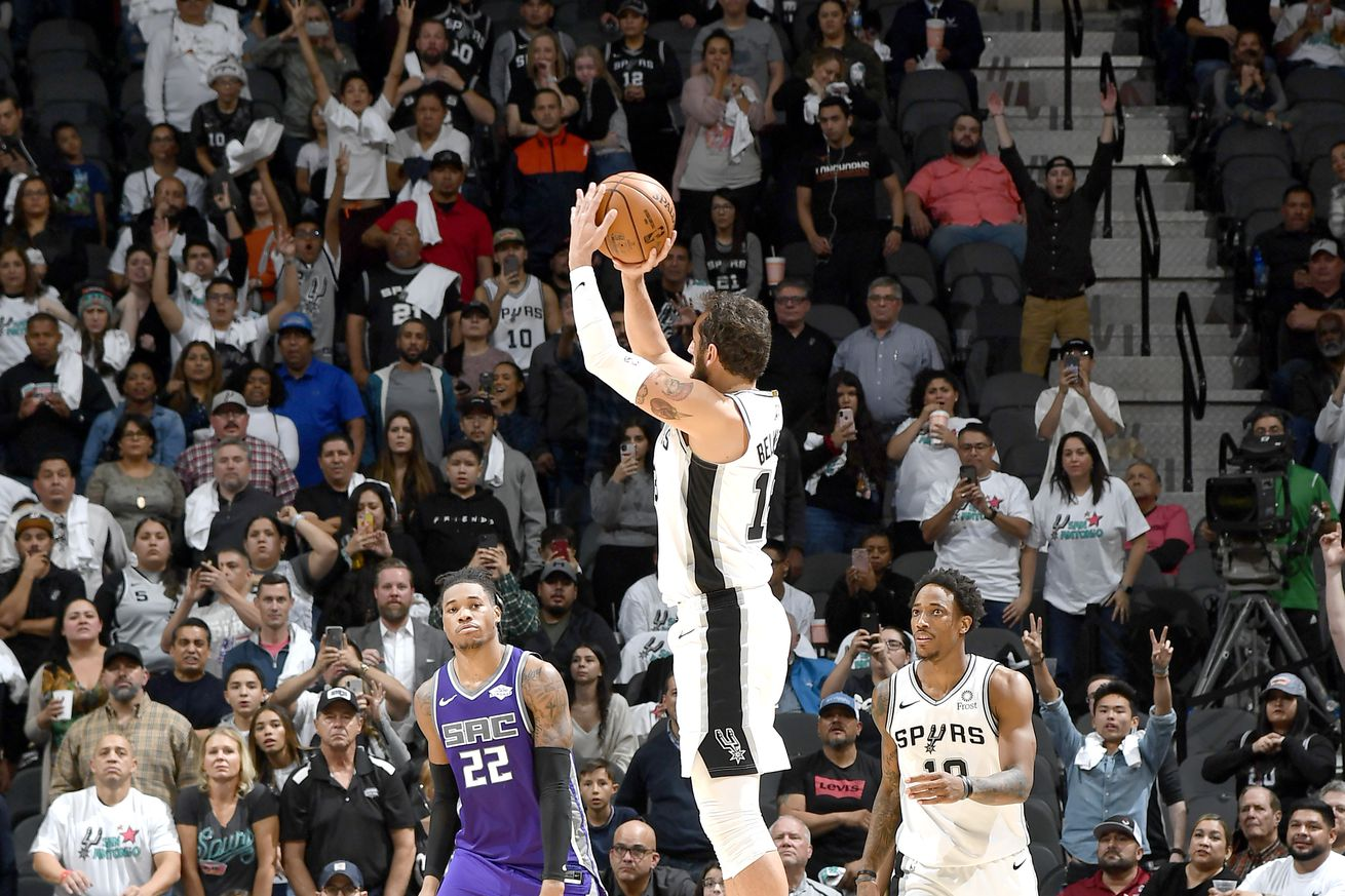 Why everything was topsy turvy in the Spurs win over the Kings