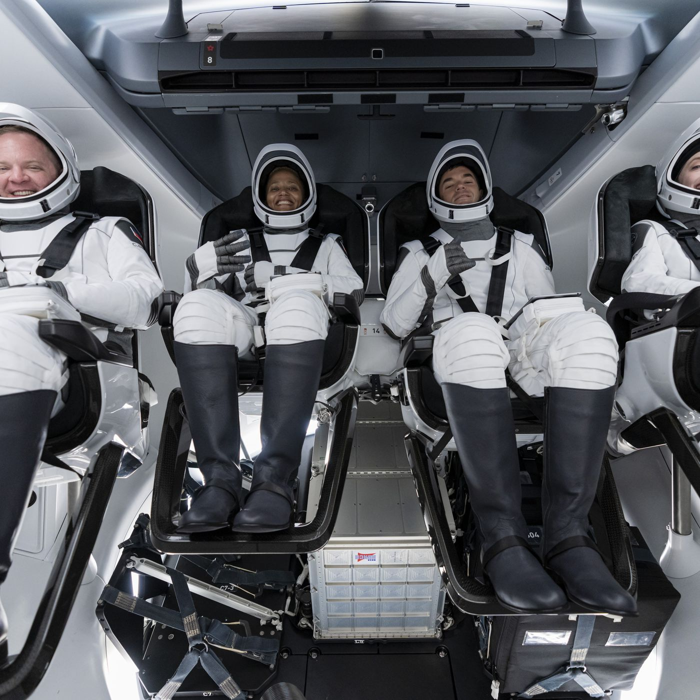 SpaceX is about to send its first crew of private citizens to ...