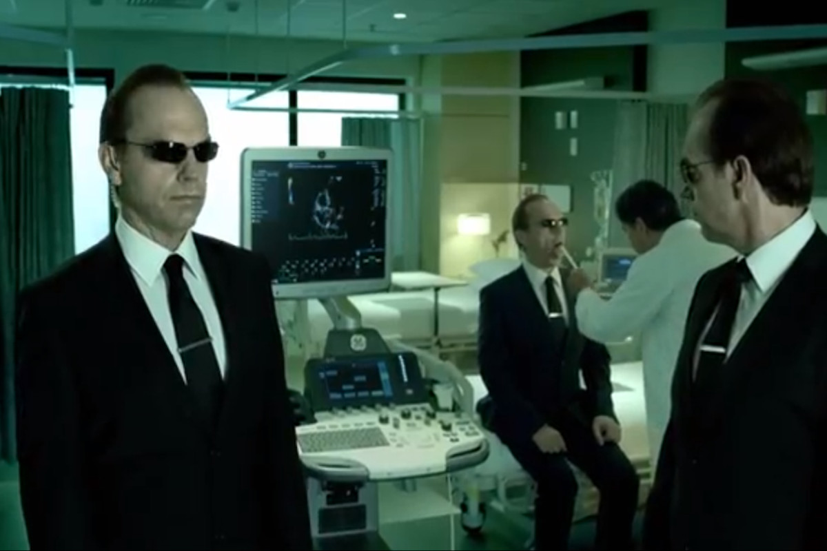 27d58ffd91ed GE gets lost in 'The Matrix' with new ad for connected hospitals starring Agent  Smith