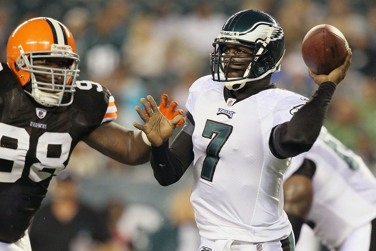 Mike Vick and Tyrod Taylor (obviously not pictured) both had a big game in Week 3 of the NFL Preseason.