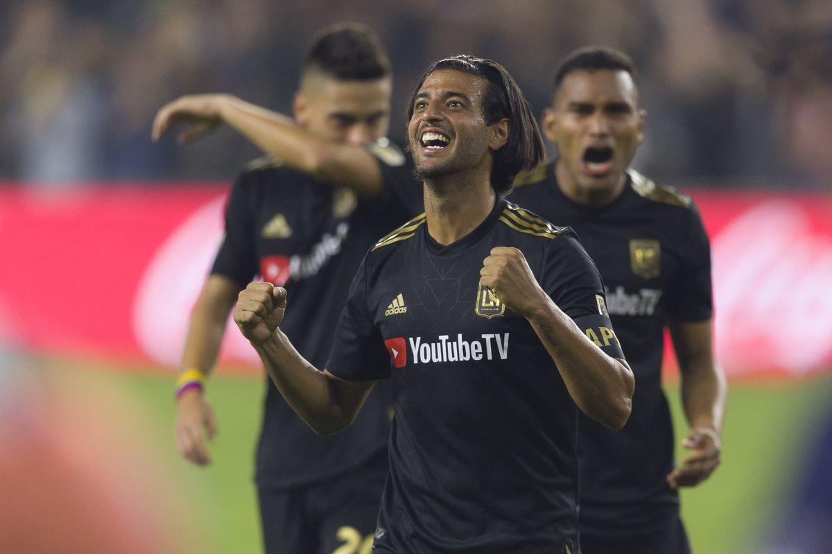 MLS: MLS Cup Conference Semifinals-LA Galaxy at Los Angeles FC