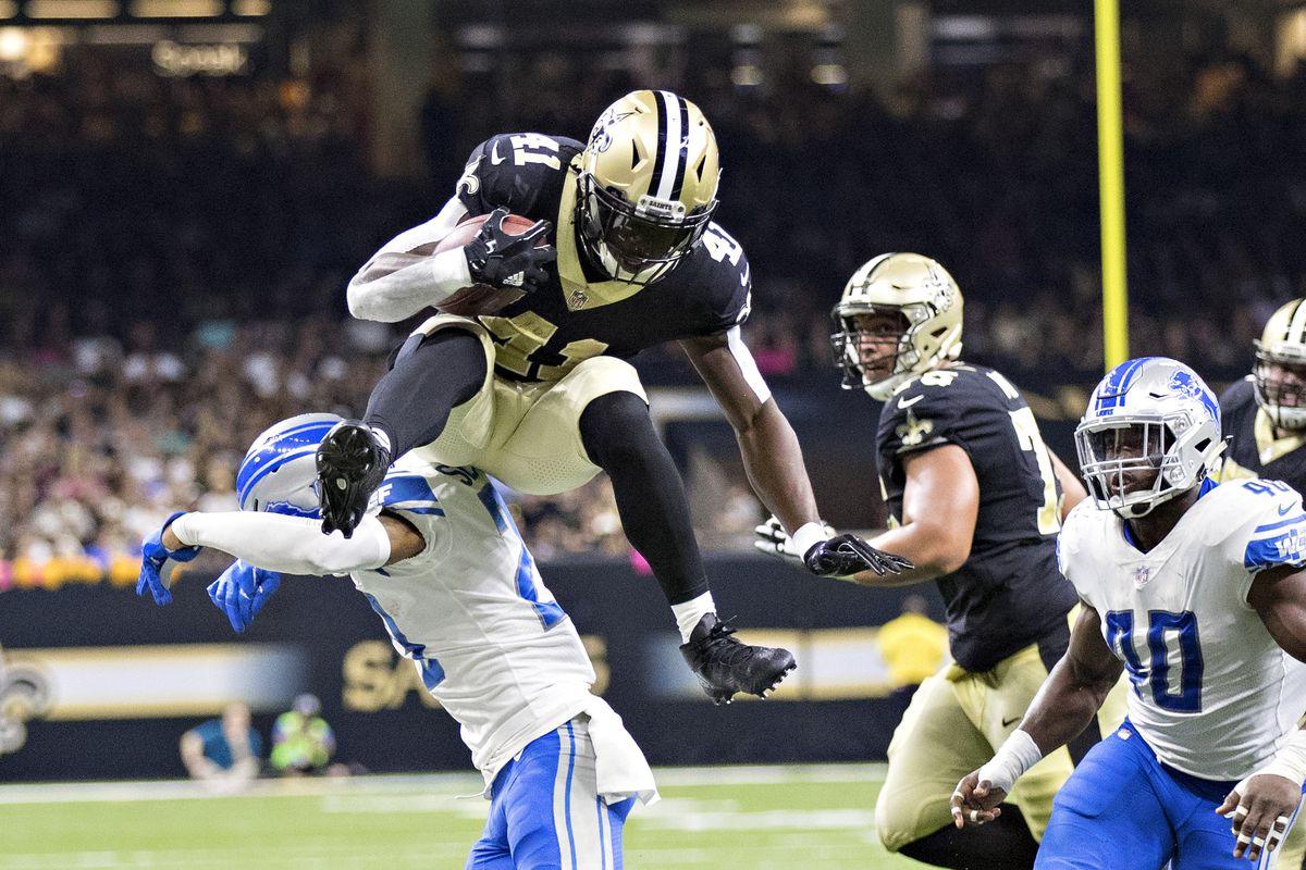 Detroit Lions v New Orleans Saints