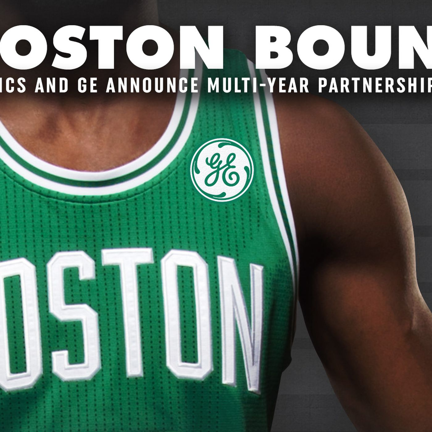 best website 8cce7 d8771 Boston Celtics and General Electric announce jersey ...