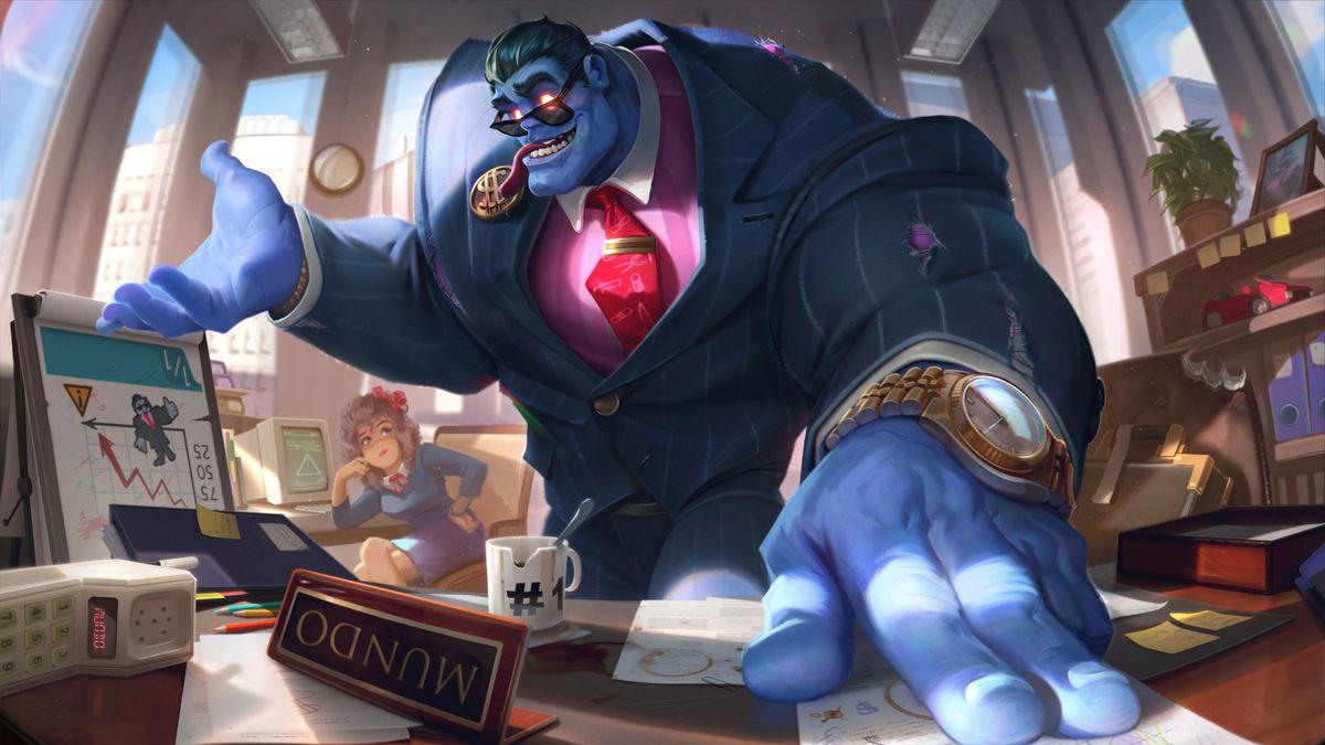The Corporate Mundo splash art from League of Legends