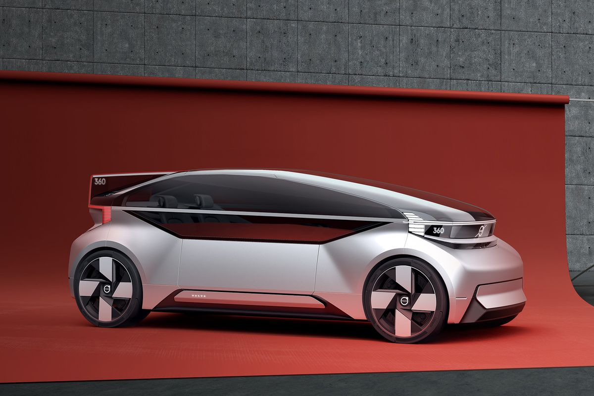 Volvo's 360c concept car is a fully autonomous bedroom on wheels ...
