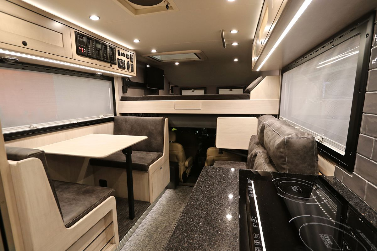 Sprinter Rv For Sale >> Off-the-grid adventure camper from EarthRoamer costs more ...
