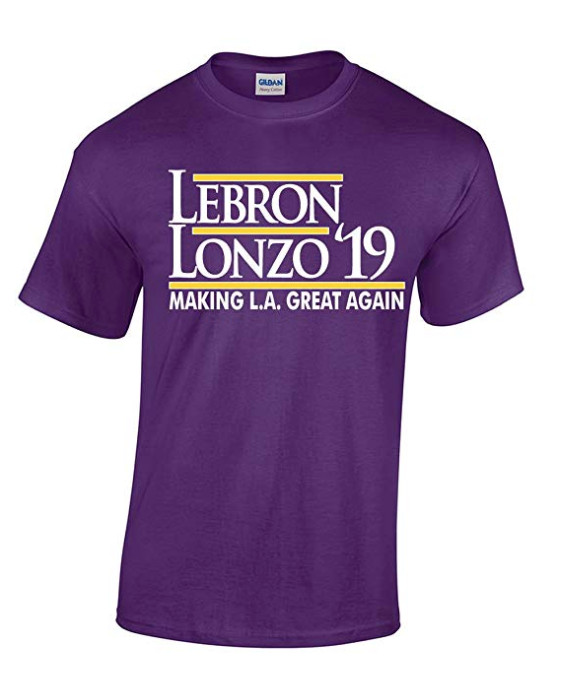 separation shoes 0be87 3a3d3 LeBron James Lakers jerseys and t-shirts now available ...