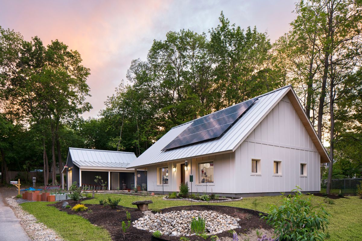 A Built Home From Ecocor S Solsken Collection