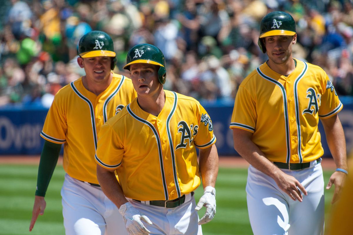 wholesale dealer ade66 75a99 Looking Ahead at Your 2018 Oakland A's - Athletics Nation