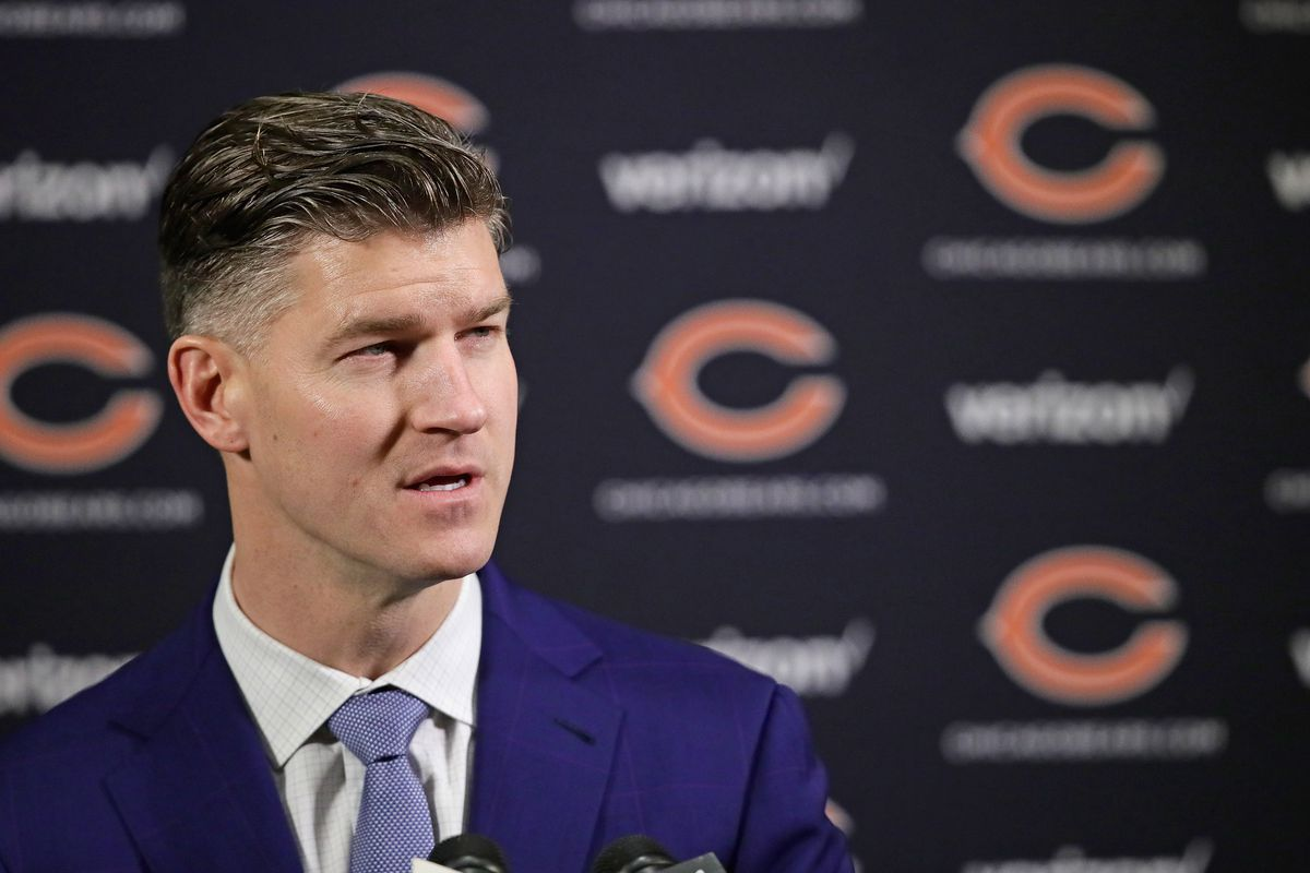 If Bears GM Ryan Pace elects to make a move, it would likely be to shore up a shaky offensive line.