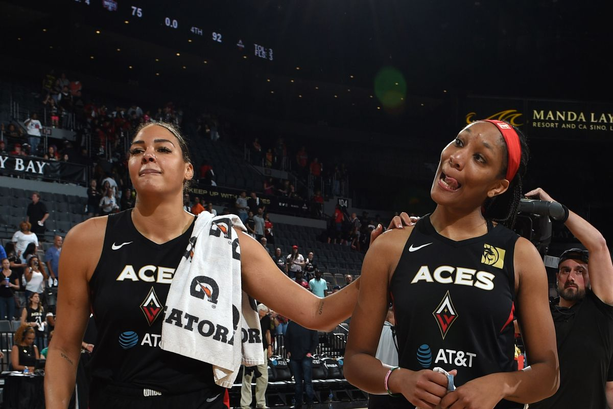 Washington Mystics v Las Vegas Aces - Game Three