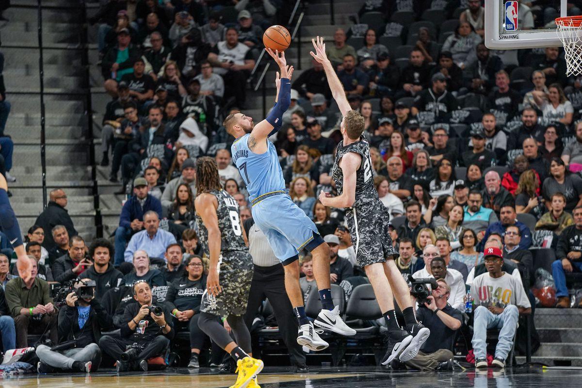 NBA: Memphis Grizzlies at San Antonio Spurs