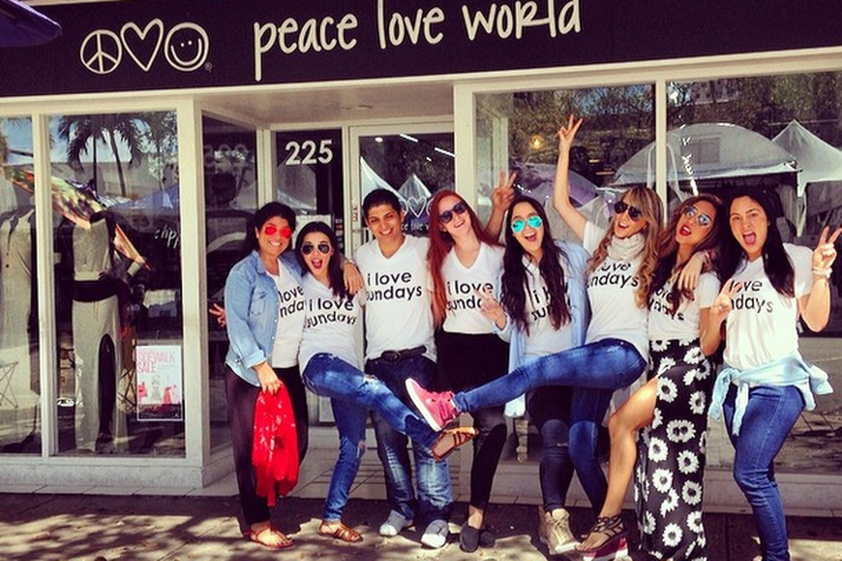 Peace Love World is Hosting a Summer Sample Sale! - Racked Miami