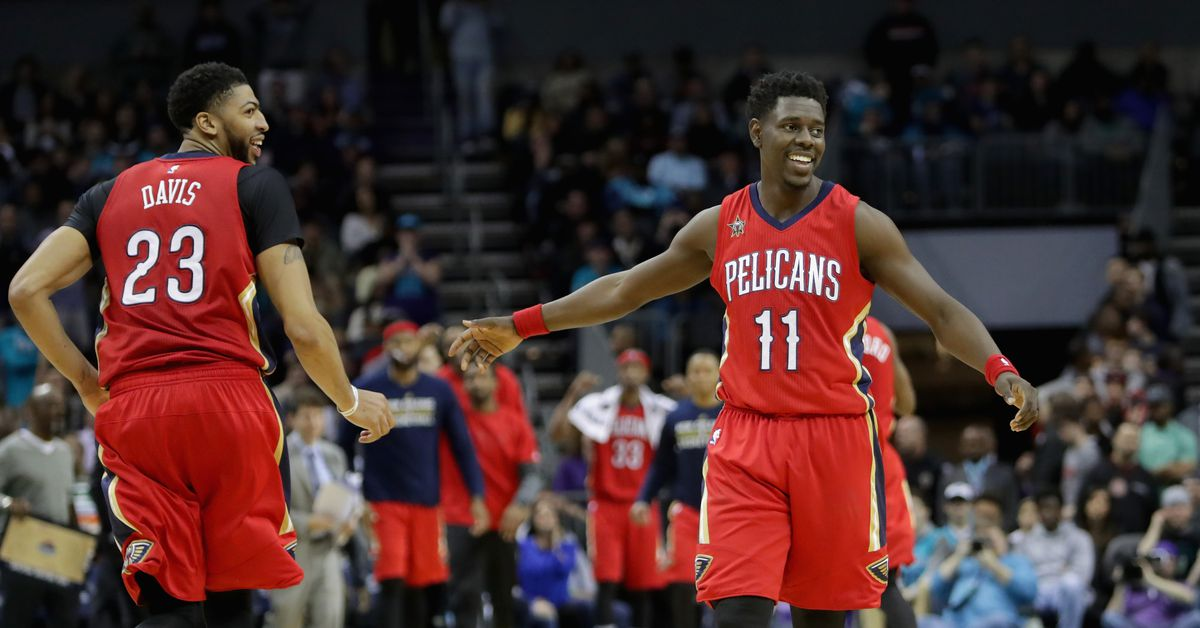 Anthony Davis and Jrue Holiday's 40-point games in Game 4 looked like a video game