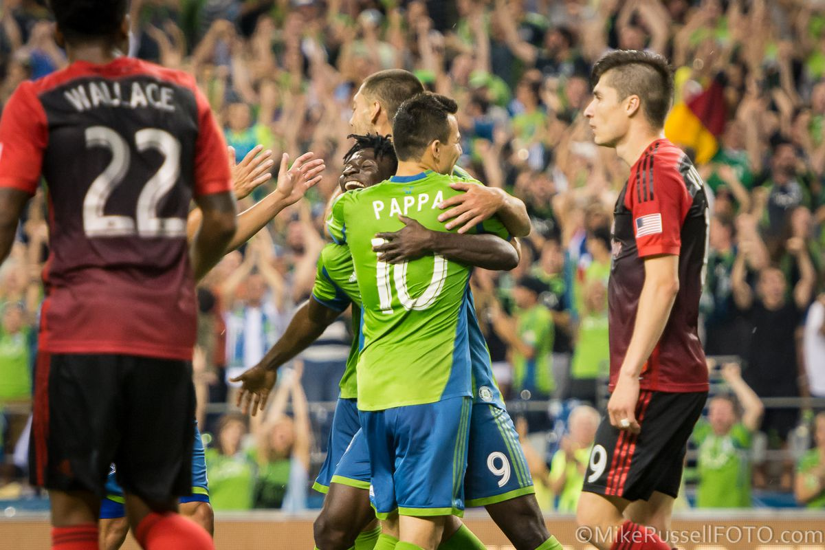 Pappa, Martins and Dempsey, all had reason to celebrate great performances.