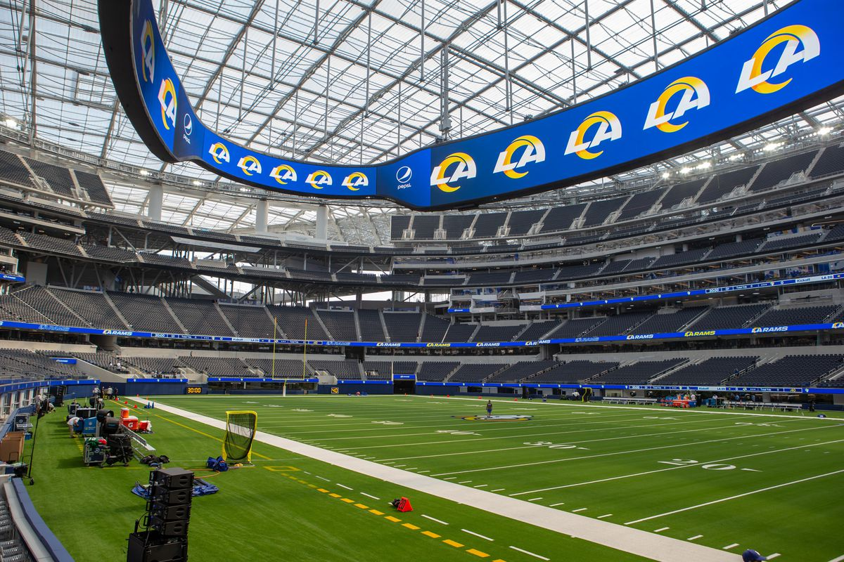 Rams Chargers Covid 19 Stadium Policy 2020 Teams Announce No Fans Until Further Notice Draftkings Nation