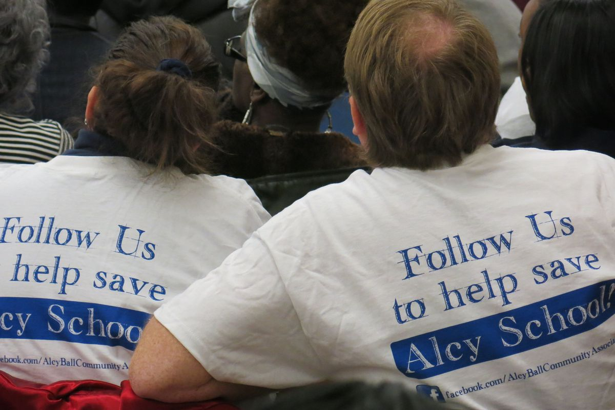 Follow us to help save Alcy Elementary School