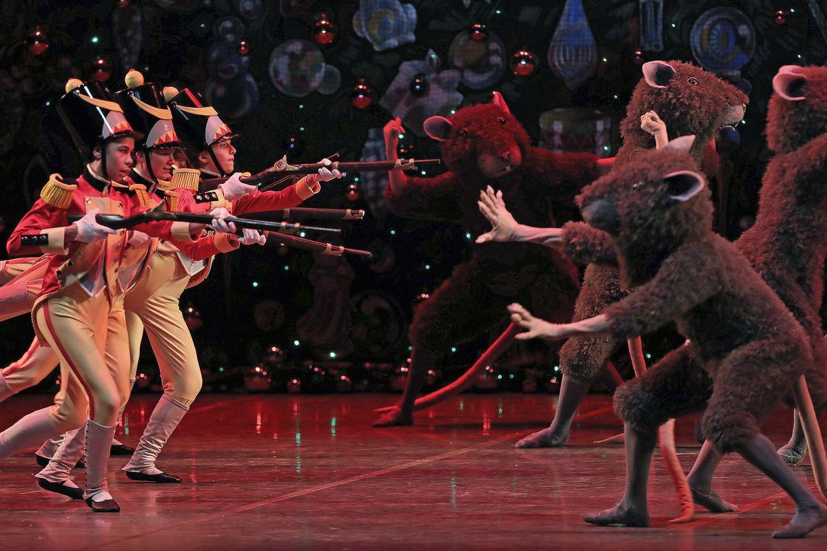 """Dress Rehearsal Of Boston Ballet's """"The Nutcracker"""""""