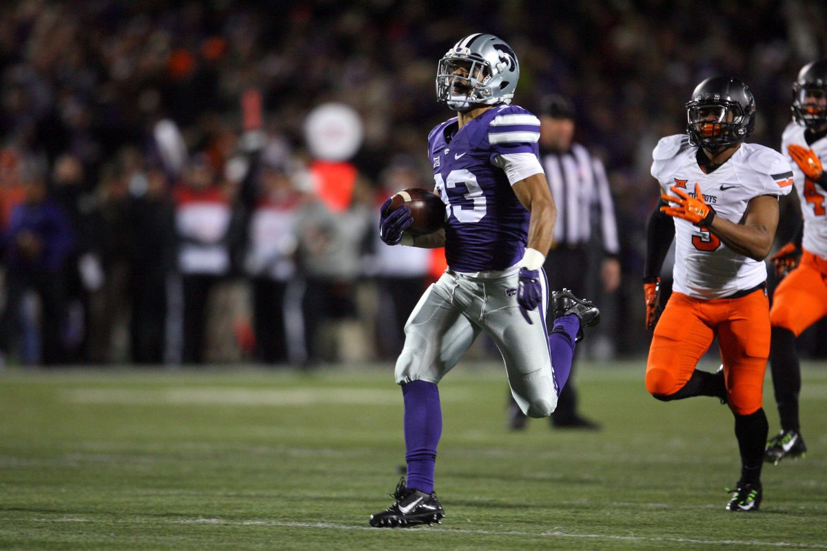 Morgan Burns' electric kickoff return was enough to elevate him to sole possession of the second kickoff returner position.