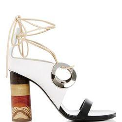 Splurge sandals of the season, c/o Proenza Schouler.
