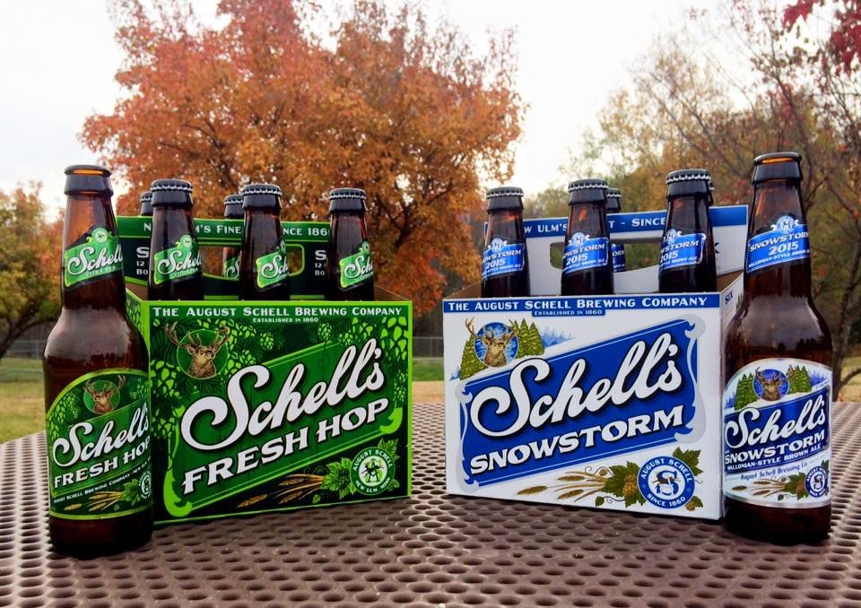 How to have a snow-less snowstorm. Photo courtesy Schell's Facebook page