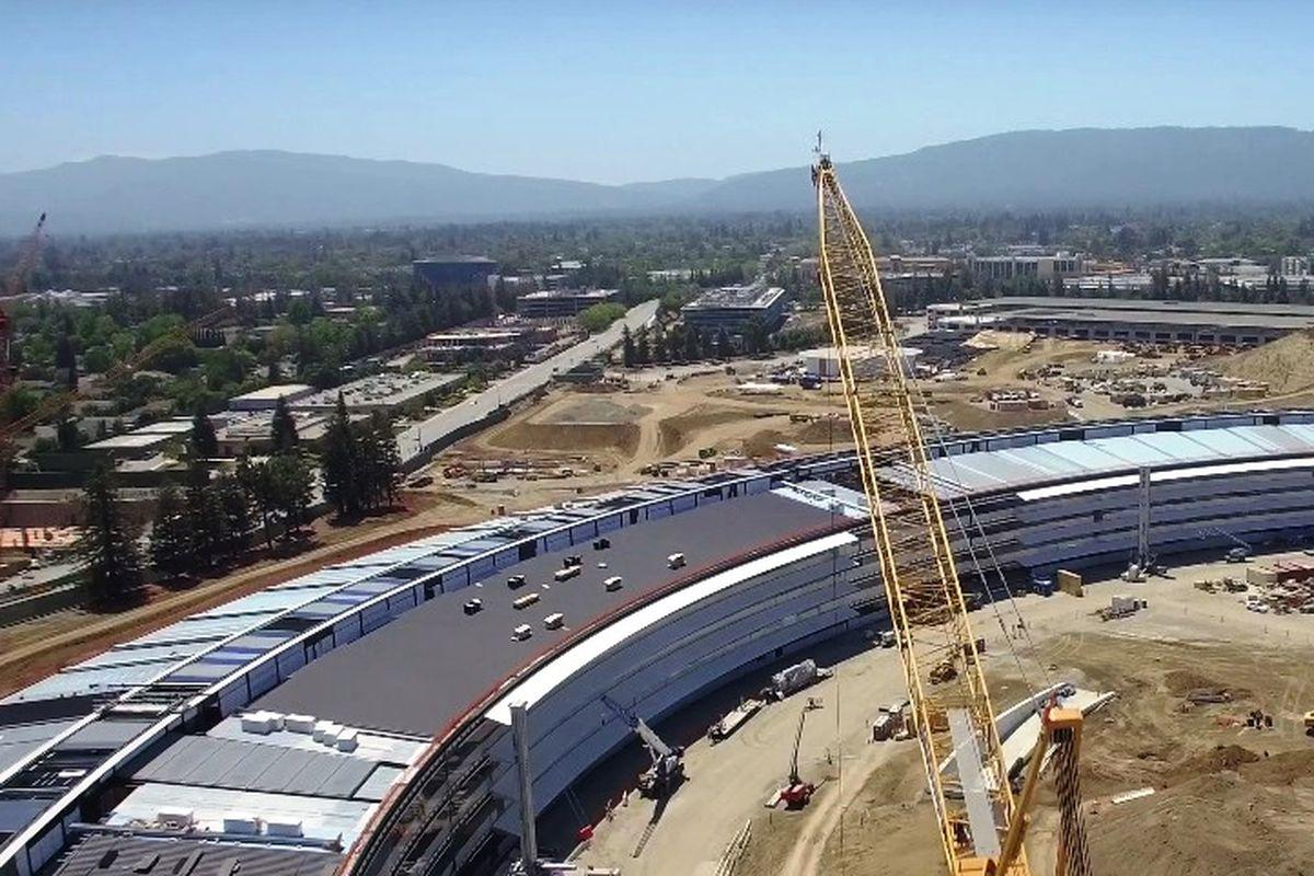 Apple campus progress coming along beautifully - Curbed SF