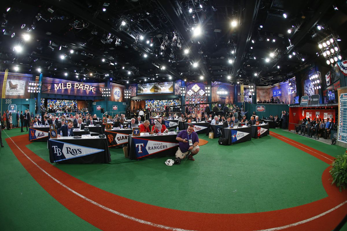 Matt Krook is the latest name to be linked to Los Angeles in Baseball America's Mock Draft