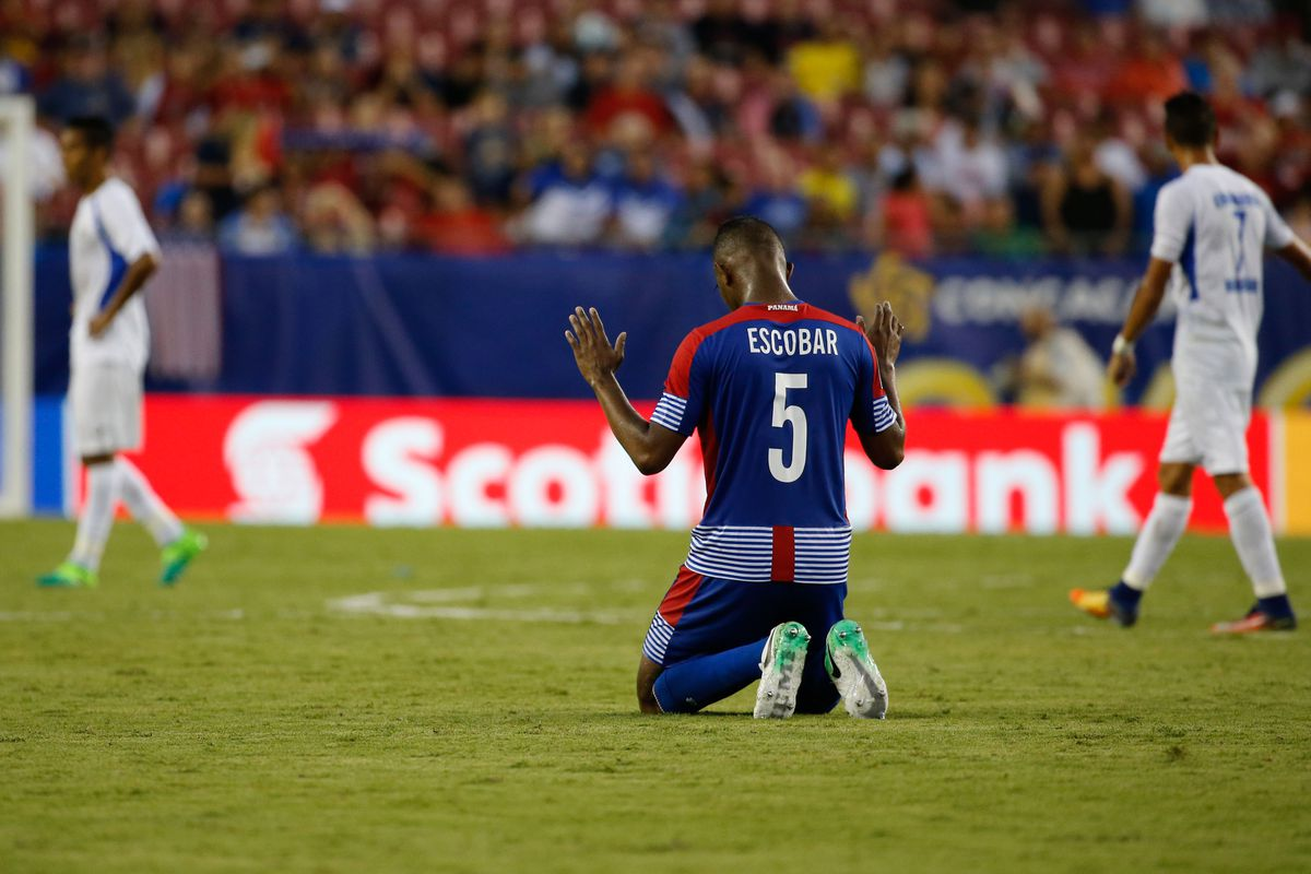 Soccer: 2017 CONCACAF Gold Cup-Panama at Nicaragua