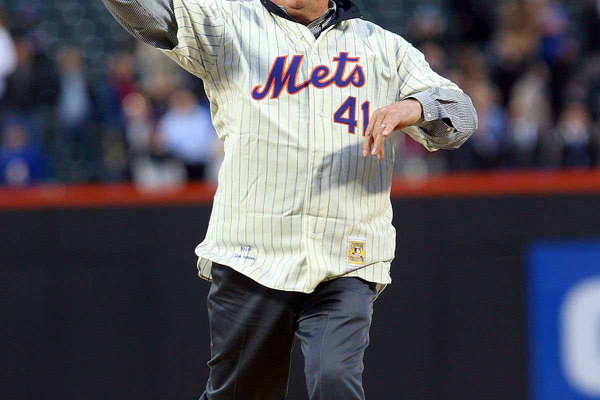 The only Met pitcher better than R.A. Dickey. (Jim McIsaac / Getty Images)