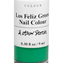 Los Feliz green nail polish, $11