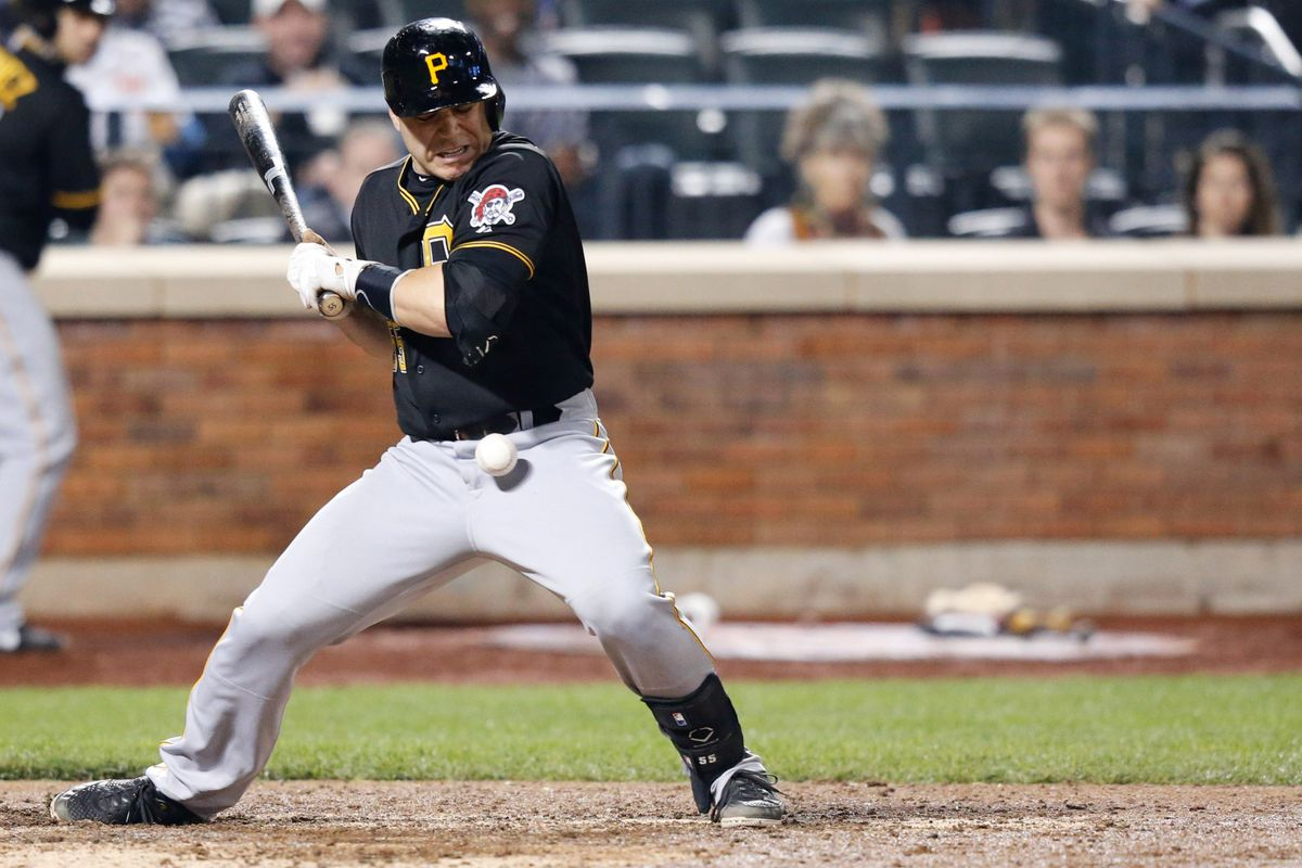 Taking one for the team can be valuable, but painful. Just ask Russell Martin of the 88 HBP Pirates, whose 8 HBP might have involved at least one ball too many.