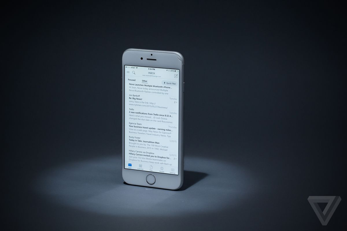 Outlook for iOS TIMN