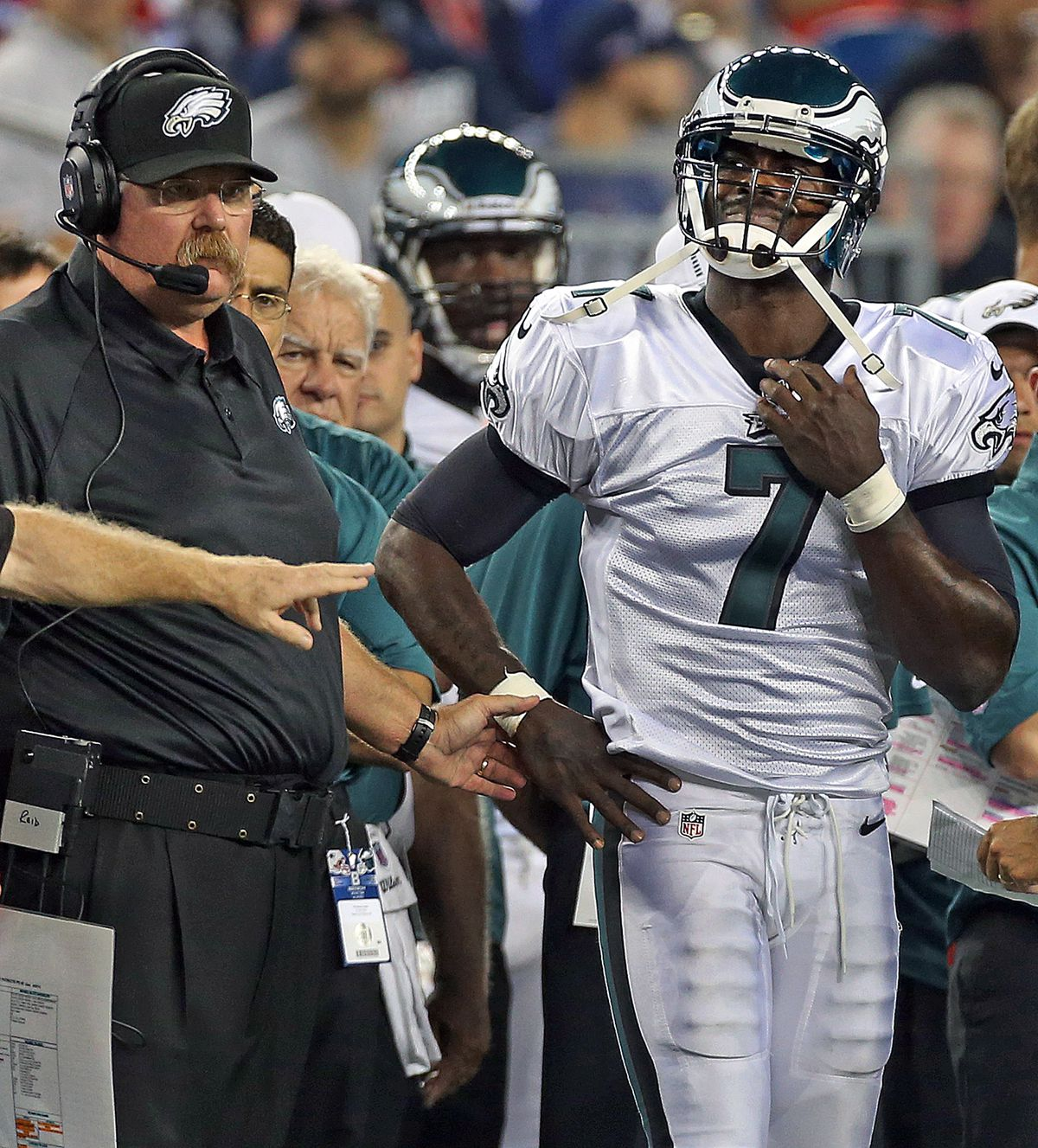 NFL Preseason: Philadelphia Eagles Vs. New England Patriots At Gillette Stadium